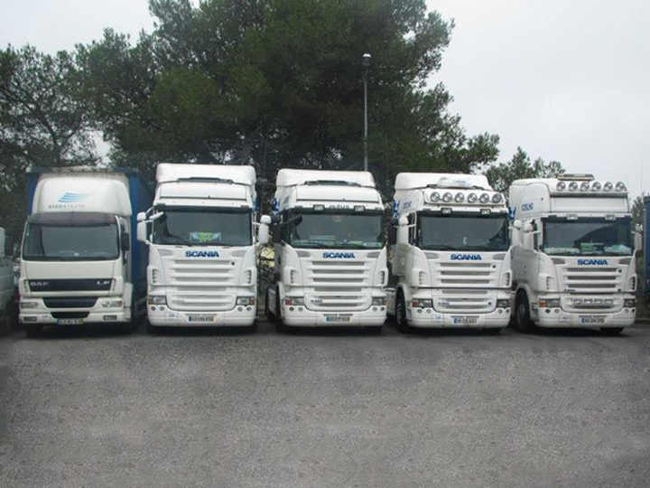 The truck fleet grows to ensure the conquered services