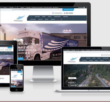 Novo Website Barratrans